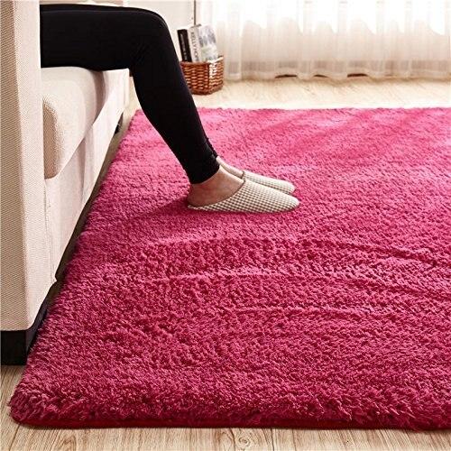 200x300CM Ivory White Shag Rug Soft Shaggy Rug Carpet for Living ...