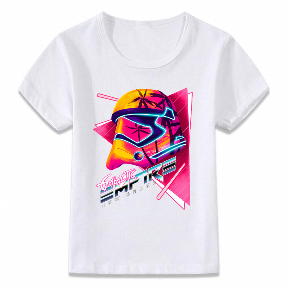 Boys T-Shirt Star Wars Tee Kylo Ren Force Awakens Stormtrooper Kids 4-10 Years