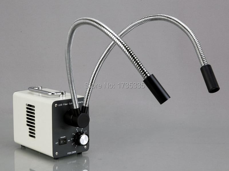 50 W LED šalto pluošto optinis iliuminatorius mikroskopui