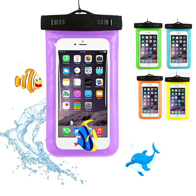 outlet store 68dcc 9311a cunzhi For Ulefone Power 2 Case 5.5inch Universal Waterproof Pouch Diving  PVC Bag Ulefone Power Case -in Phone Pouch from Cellphones & ...