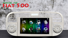 6.2 Inch Car Stereos for Fiat 500 2007~2013 Car DVD CD Player with Radio GPS Navigation Radio Video Auido USB SD Bluetooth White
