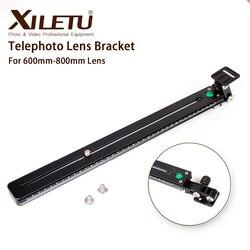 XILETU XTB-450 Camera Tripod Monopod Long Focus Bird Watching Bracket Telephoto Lens Mount Plate for Arca Swiss 600mm-800mm Lens
