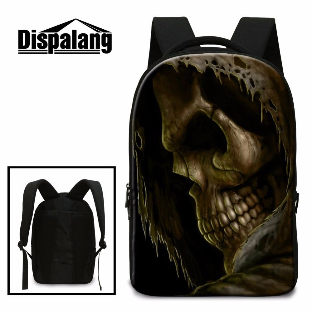 Best Skull Laptop Backpacks for Boys Teenagers School Bags Large Capacity Coolest Back Pack for Girls Cool Bookbags Lightweight
