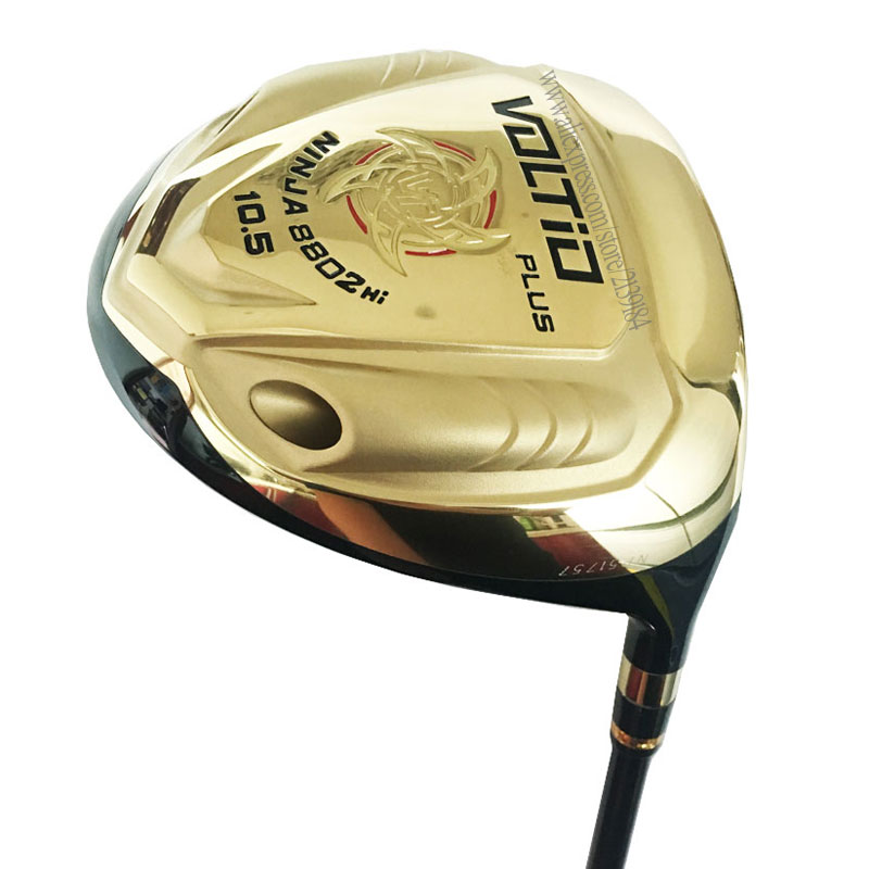 New Golf Clubs Katana Voltio PLUS Driver 9.5 Or 10.5 Loft  Golf Driver R Or S Clubs Graphite Shaft Cooyute Free Shipping