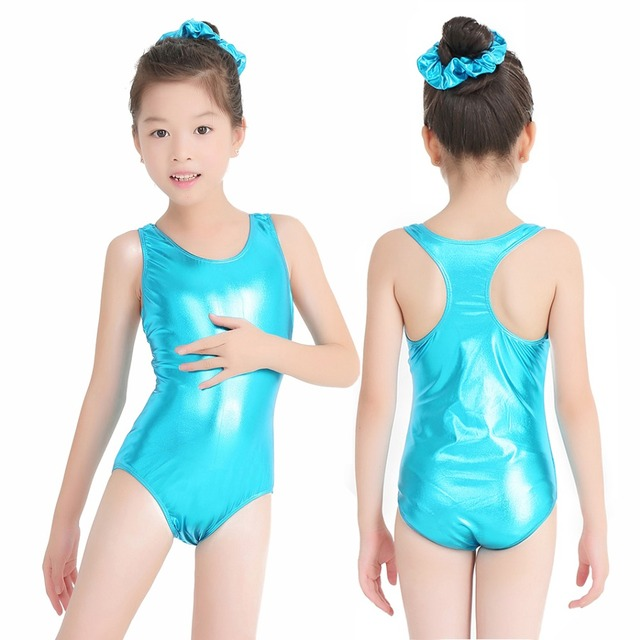 7d8fc4da2 Speerise Shiny Metallic Toddler Girl Ballet Dance Leotards Children ...
