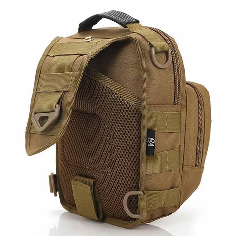 Vogue star sacos de homens mensageiro pacote peito multifuncional bolsa de ombro bolsa crossbody equipamentos la24