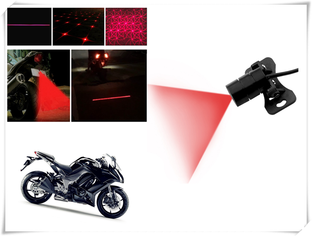 Car and motorcycle LED laser fog light signal personality for Kawasaki ZX1400 ZX14R ZZR1400 Z1000 Z1000SX NINJA 1000 TouReR(China)