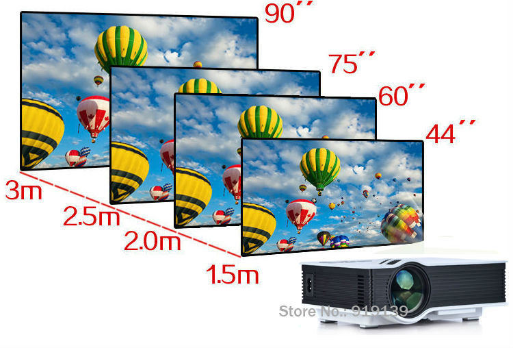 New 40 HD LED Projector pic 7