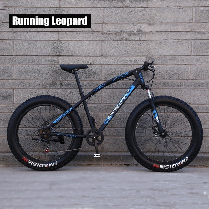 Fat Bike Speed Change Cross country Mountain Bike 4 0 Super Wide Tires Snow Sand Bicycle Fat Bike Speed Change Cross-country Mountain Bike, 4.0 Super Wide Tires, Snow Sand Bicycle, Male And Female Student Bicycle
