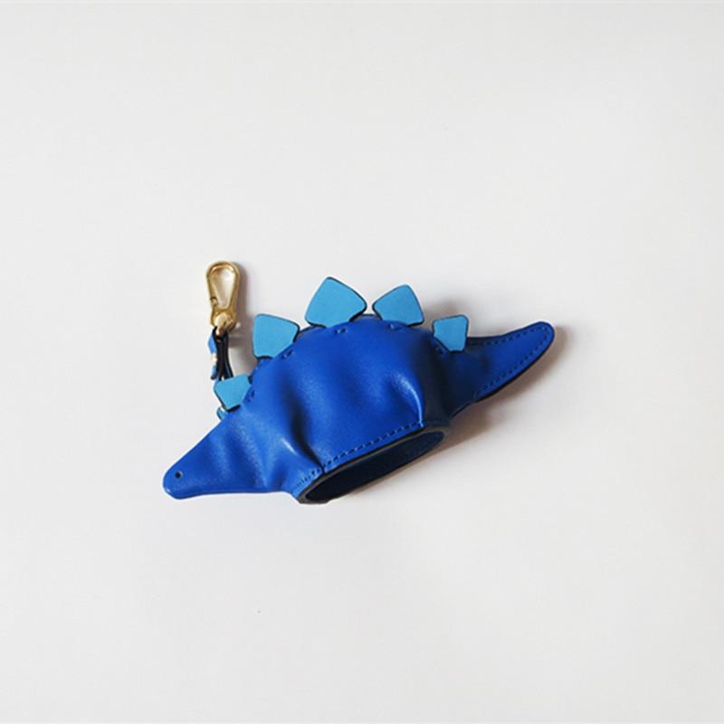 Monedero carré vente Monederos Para Mujer Trousse Kawaii 2018 cuir dinosaure portefeuille clé sac Mini mignon Animal pendentif sac à main