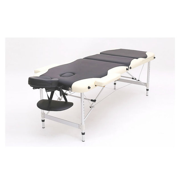 2015 New Design Two colors Double Colours High Quality Cheap Folding Aluminum Massage Table Massage Bed Beauty bed Spa Bed
