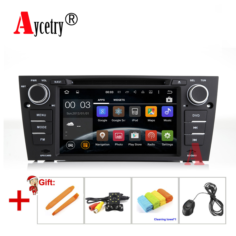 Car radio dvd Multimedia Player android GPS For BMW/320/328/3 Series E90/E91/E92/E93 autoRadio FM Quad Core stereo audio rds BT