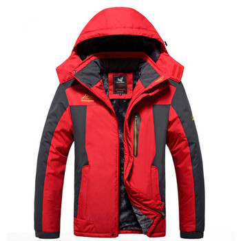 Original Winter Warm Waterproof Soft shell Jacket Wool Autumn New Male Outdoor Sport Brand Clothing Camping Hiking Trekking Coat