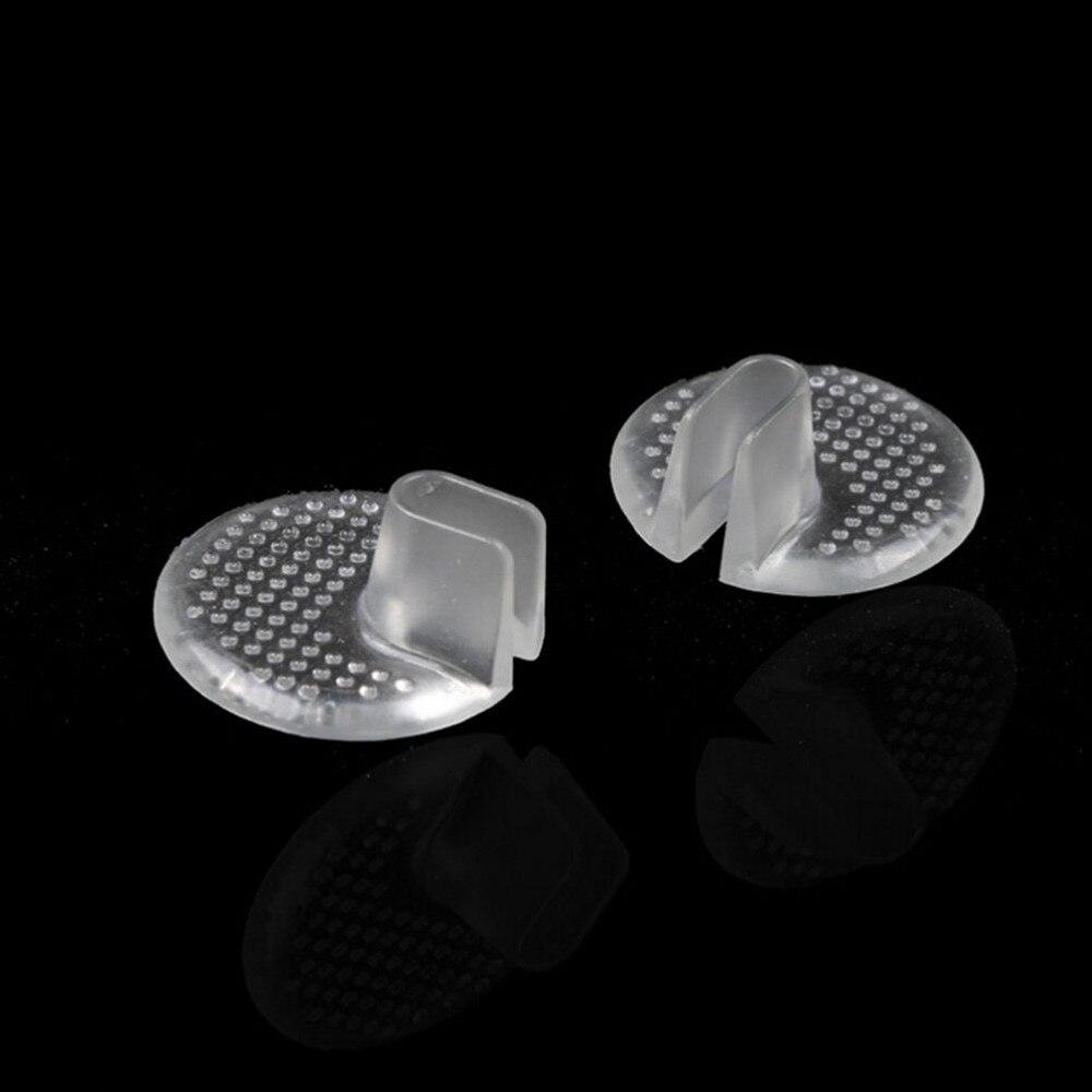 1 Pair Gel Shoes Inserts Shoe-pad Cushion Flip Flop Sandals Toe Separator Massage Insole