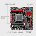 New X79 PC assembly board ECC REG memory CPU set of 2011 pin can be equipped with E5-2670 eight core