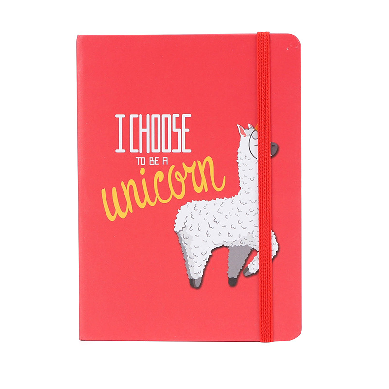 A7 Portable Alpaca Kawaii Planner Office School Schedule Stationery 96 Sheets Mini Notebook Organizer Cute Bullet Journals