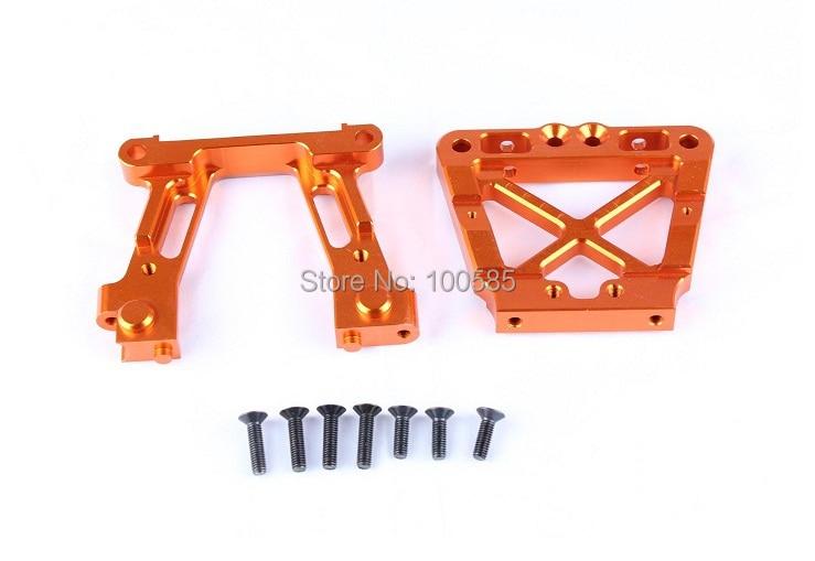 Baja CNC объемная головка переборка для 1/5 шкал HPI КМ Baja 5B 5T 5SC-оранжевый серебристый-85176