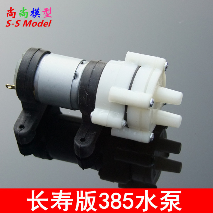 Long life quality R385 diaphragm pump, black five head glue pump, mini tea set machine, 6V-12V membrane pump exported to 58 countries mini diaphragm pump