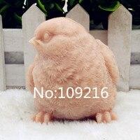 Neues Produkt!! 1 stücke 3D Vogel mit Augen Rechts (zx204) Lebensmittelqualität Silikon Handgemachte Seifenform handwerk DIY Form