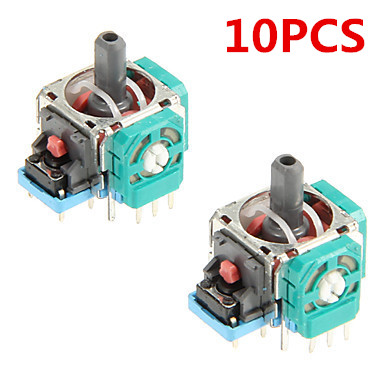10PCS 3D Controller Joystick Axis Analog Sensor Module Potentiometer Repair Part For Playstation 4 PS4 Controller Replacement beleduc развивающая игрушка зоопарк