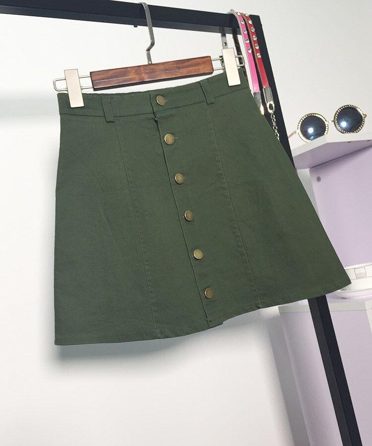 HTB1dERaMFXXXXcyXpXXq6xXFXXXQ - American Apparel button Denim Skirt JKP265
