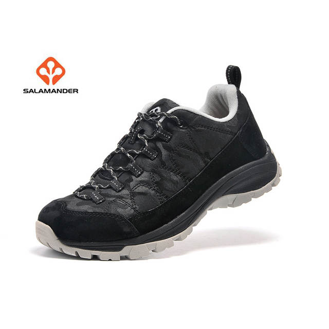 new style 50b0c 5e000 SALAMANDER Men's Leather Outdoor Hiking Trekking Sneakers Shoes For Men  Sport Climbing Mountain Trail Shoes Sneaker Man