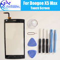 Doogee X5 Max Touch Screen Digitizer 100% Guarantee Original Digitizer Glass Panel Touch Replacement For Doogee X5 Max + Tools