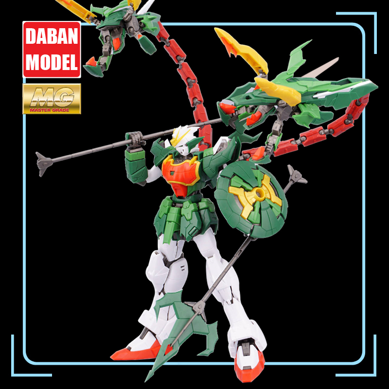 Super Nova XXXG 01S2 Green Double headed Dragon Altron Gundam Model Kit MG 1/100 Action Figure Assembly Toy Gift Water Sticker-in Action & Toy Figures from Toys & Hobbies    1