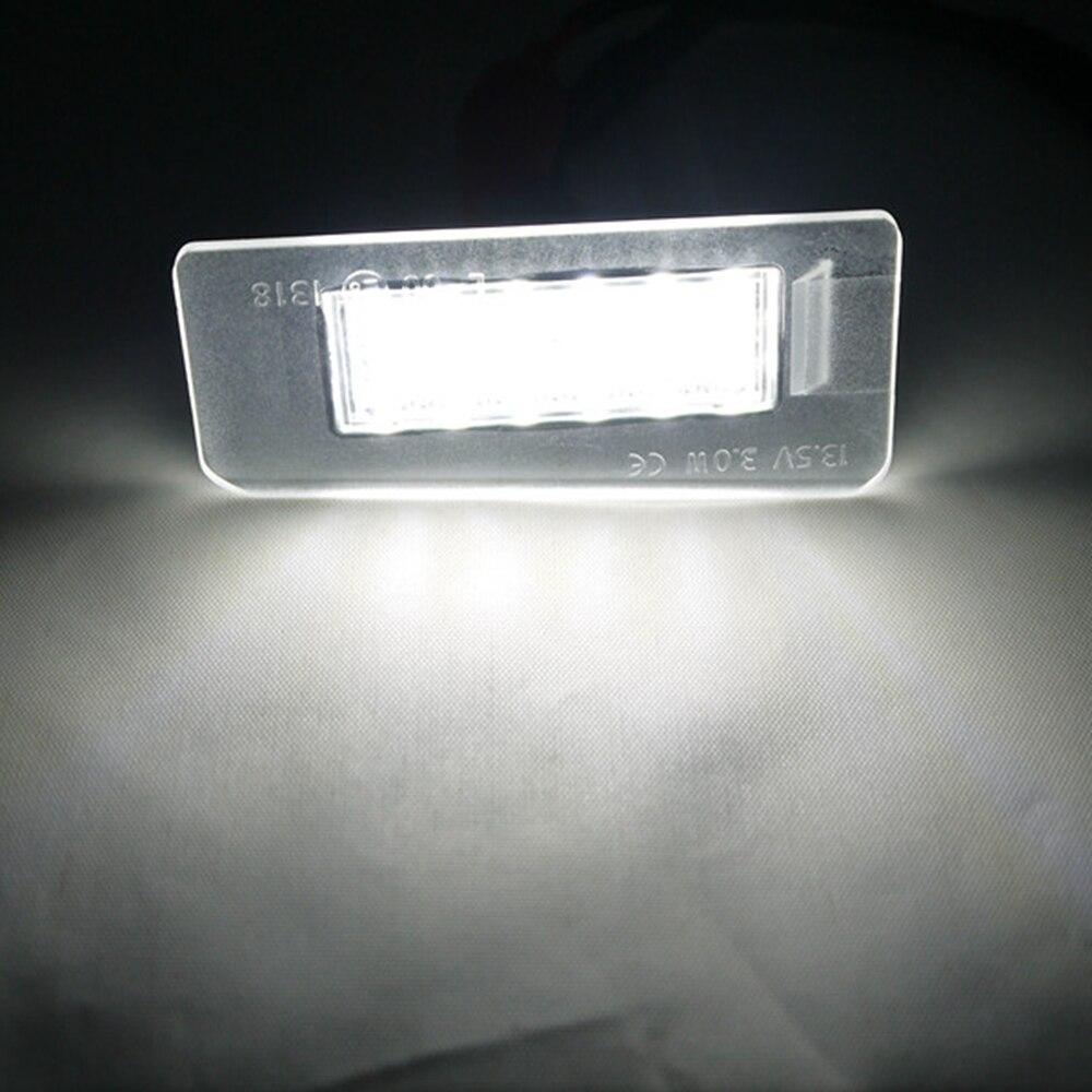 Eonstime 2pcs 6500k LED registrske tablice za Hyundai Elantra 2011 ~ - Avtomobilske luči - Fotografija 6