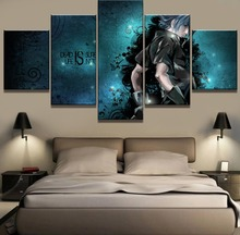 5 Piece Canvas Art Final Fantasy Game Poster Modern Decorative Paintings on Wall for Home Decorations Decor