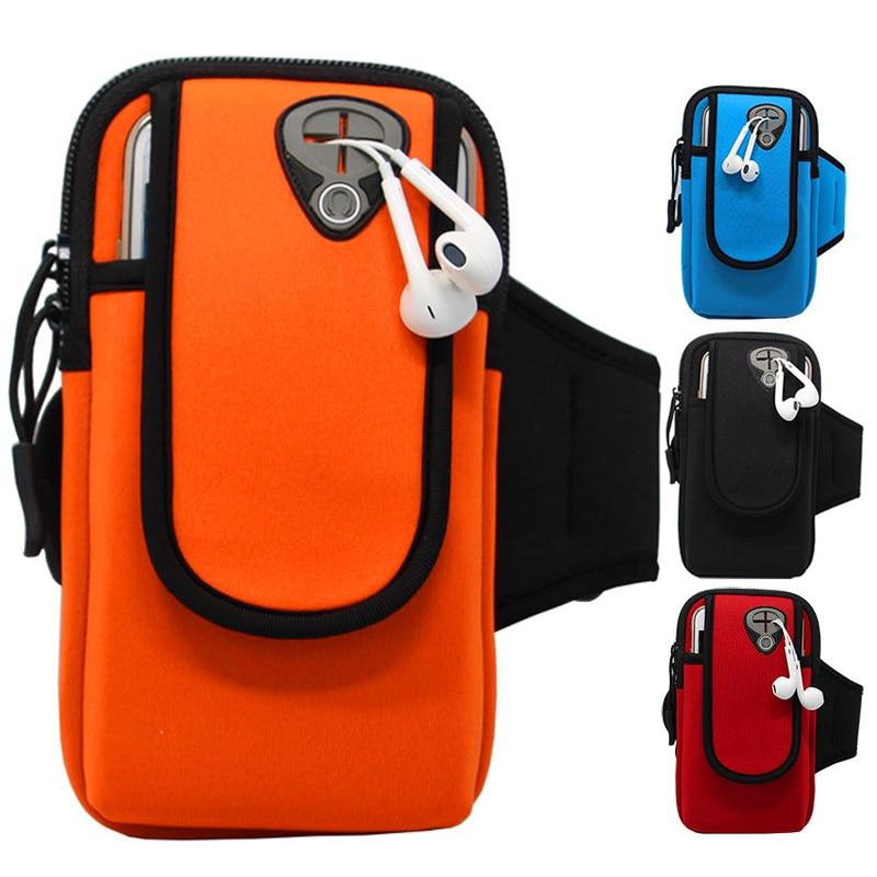 Спортивные Бег повязки сумка чехол Бег повязки Универсальный держатель мобильного телефона Открытый спорт телефон рычаг ремня сумка