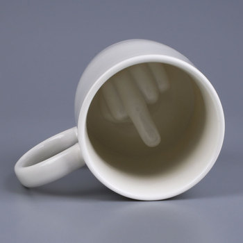 Ceramic Middle Finger Designed Coffee Home Office Mug Cup Kitchen Tool milwaukee electric tool corporation