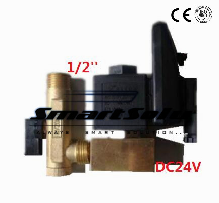Free shipping High Quality DC 24V 100% Gurantee Wholesales 1/2 Electric Drain Valve With Timer,16Bar Pressure часы fossil ls bq1093