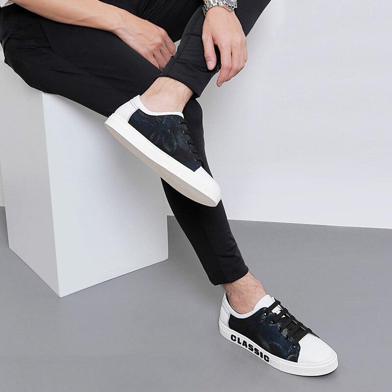 Bottes À Respirant 2018 Hommes Lacets Masculino Casual Des Noir Produit Dur portant Nouvelles Mycoron Luxe Sapatenis Chaussures De gIybvYf76m