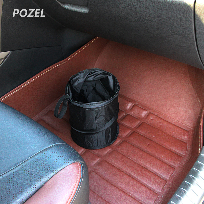 New Mini Collapsible Hanging Pop Up Car Auto Mini Trash