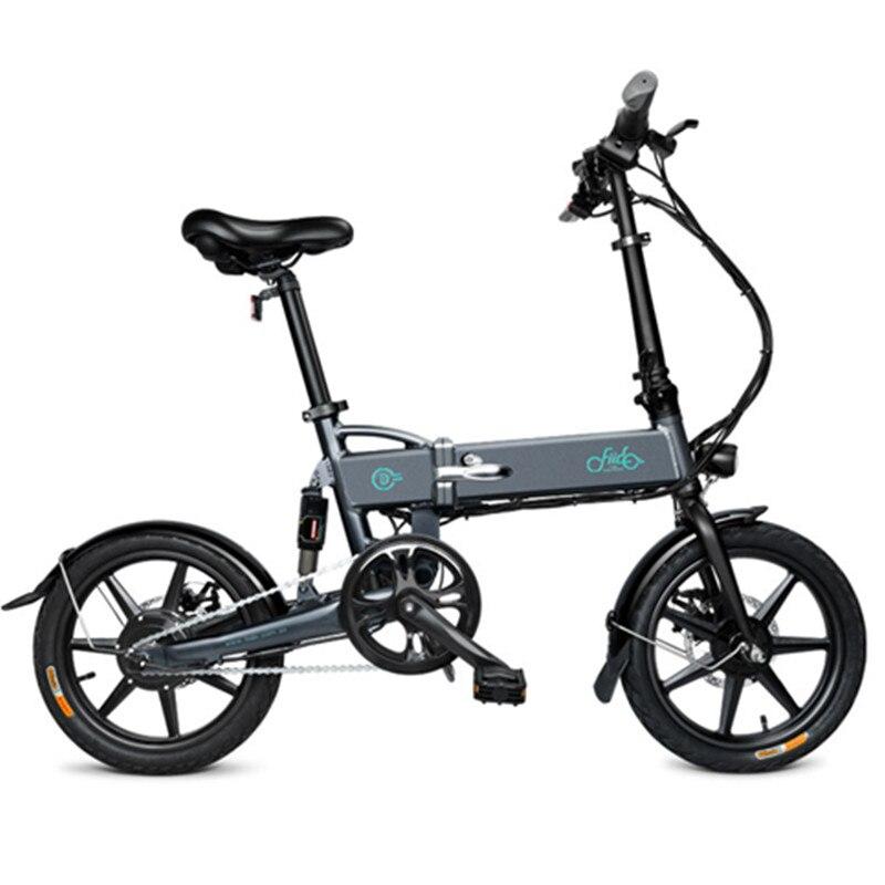 Fiido D2 Scooter Eléctrico plegable para adultos bicicleta eléctrica de dos ruedas con faro 250W bicicleta eléctrica inteligente