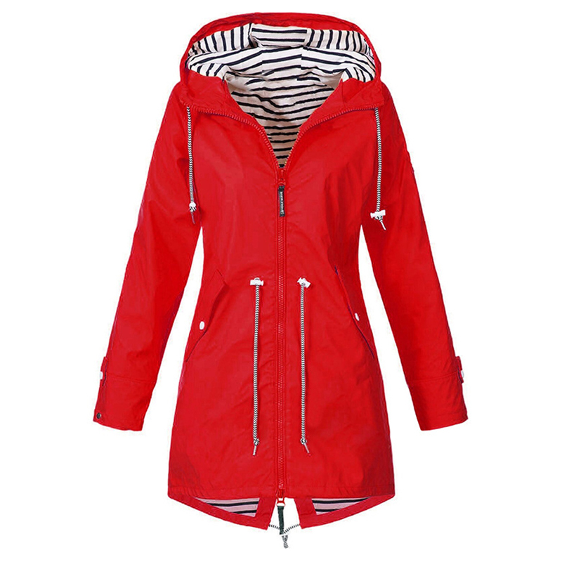 HTB1dESrXUz1gK0jSZLeq6z9kVXa8 LASPERAL 2019 Women Jacket Coat Waterproof  Transition Jacket Outdoor Hiking Clothes Lightweight Raincoat Women's Raincoat