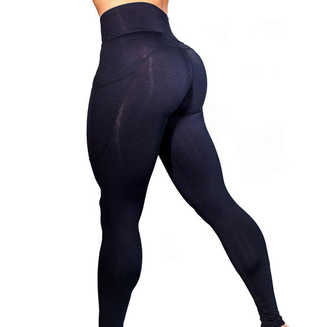 Yoga Pants With Pockets S-XL Women Sport Leggings 2