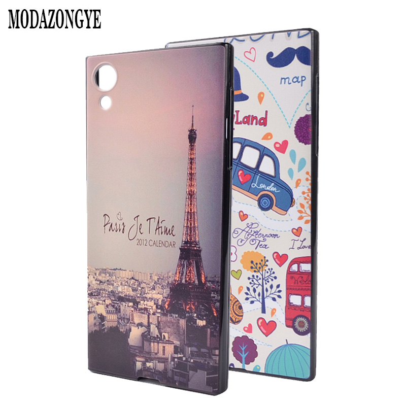 hot sale online 8e411 57f63 US $2.99 |For Sony Xperia XA1 Case 5.0 inch Silicone Painting Back Cover  Phone Case For Sony Xperia XA1 Dual G3112 G3116 G3121 G3123 G3125-in Fitted  ...