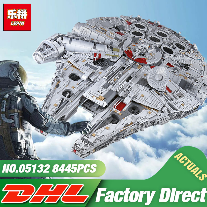 DHL Lepin 05132 Star Toy Wars The 75192 New Millennuium Falcon Star Destroyer Set Building Blocks Bricks Kid Toys Christmas Gift dhl lepin 05132 star toy wars the 75192 new millennuium falcon star destroyer set building blocks bricks kid toys christmas gift