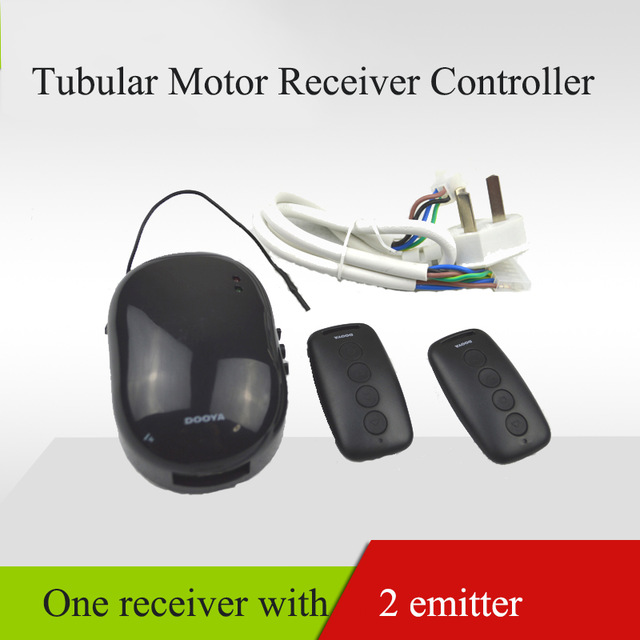 Dooya DC31+DC30 Tubular Motor Receiver Controller For Electric Rolling Shutter/GARAGE DOORS