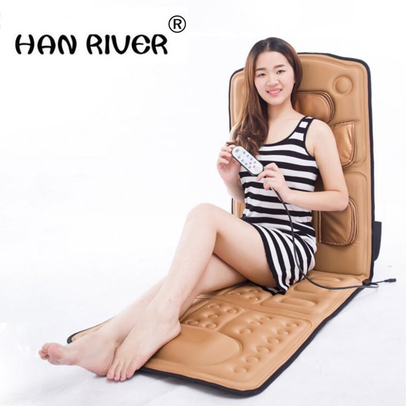 Household whole body massage mattress multi-function electric airbag massage chair massage device heating vibration massage chair household body luxury multi function intelligent electric zero gravity space cabin sofa