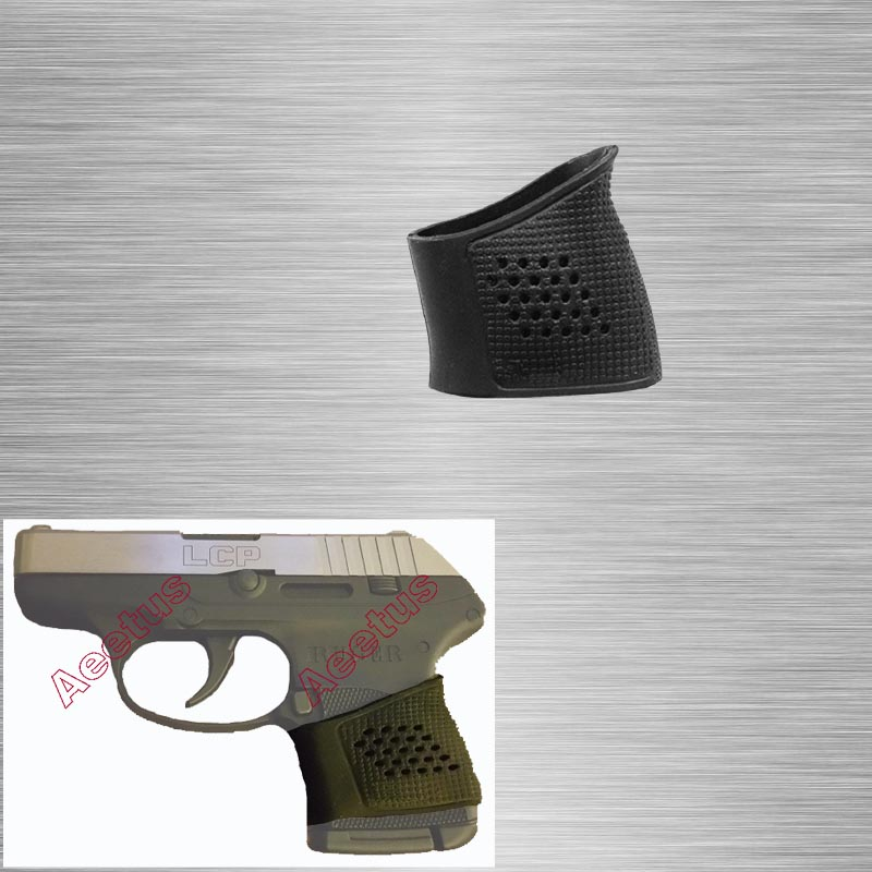 US $4 99 |Tactical Rubber Grip Glove for Ruger LCP, Taurus TCP, Kel Tec  P3AT, P32, Beretta Nano Free Shipping-in Scope Mounts & Accessories from
