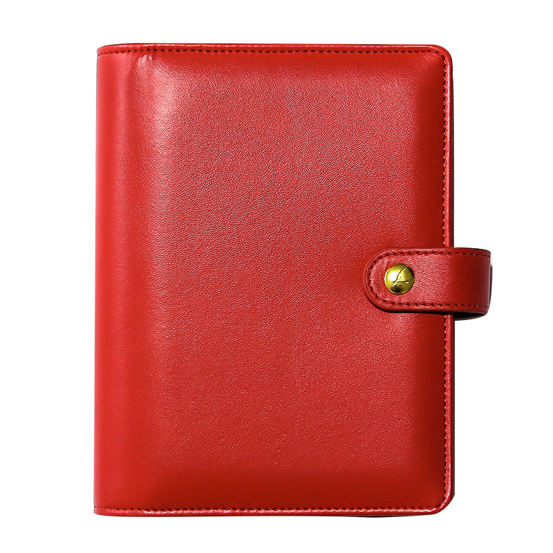 Cadernos vermelho japonês notebook pessoal agenda Feature : Diary Planner Organizer Notebook