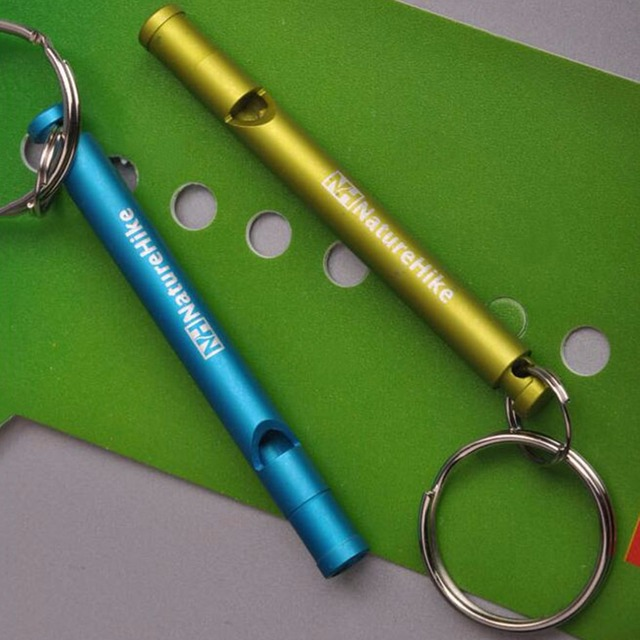 Survival Whistle Aluminum Whistle Emergency Camping Compass Kit Outdoor Gear Free Shipping