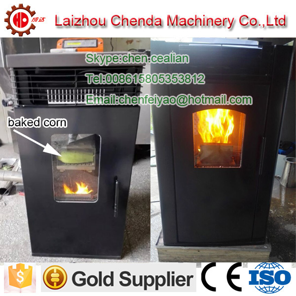 Bargain price Mini Biomass Hydrologic cycle pellet stove 6kw image