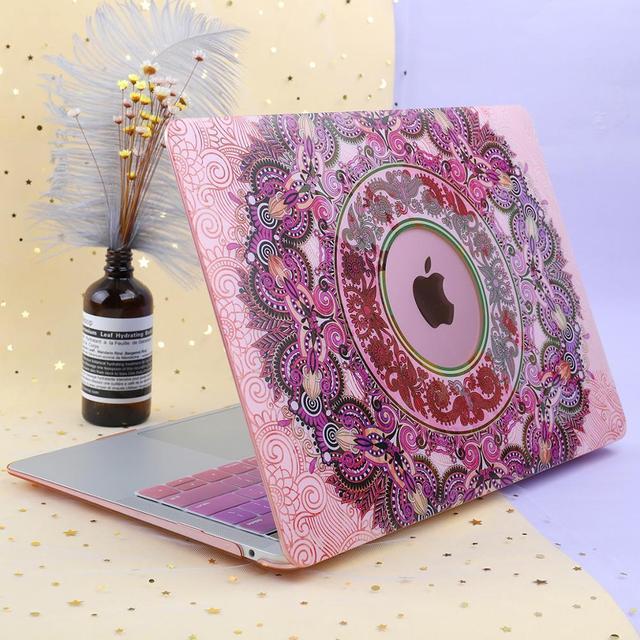 Mandala Print Case for MacBook 2