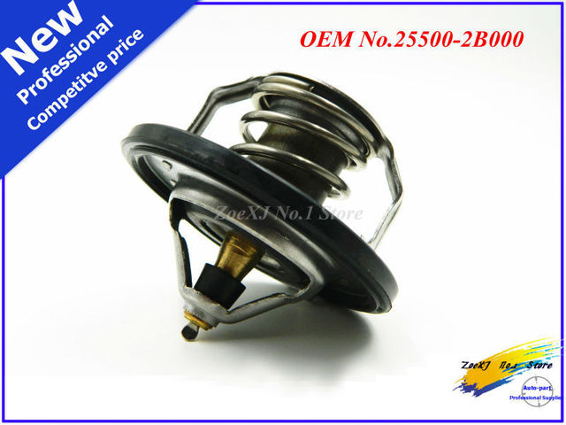 New Coolant Thermostat ASSEMBLY OEM 25500 2B000 For
