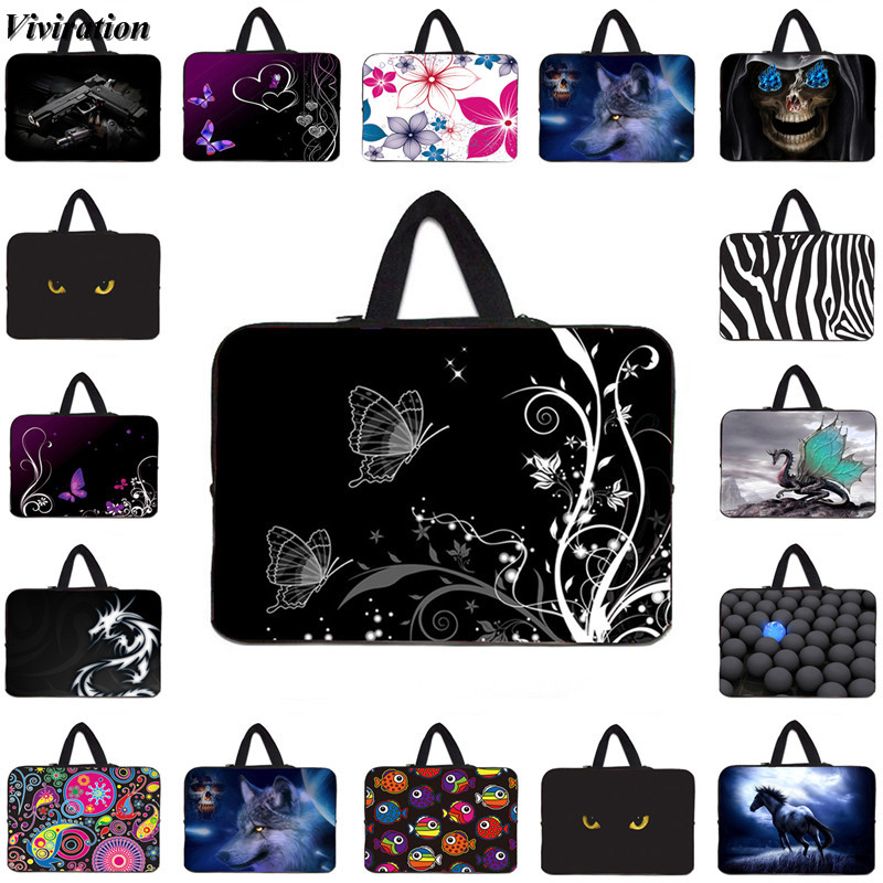Hot Fashion Carry Cover Case For Dell Acer Lenovo Laptop Notebook PC Computer Bag 15 14 13 10 12 17 7 Inch Lady Handbag Pack Bag