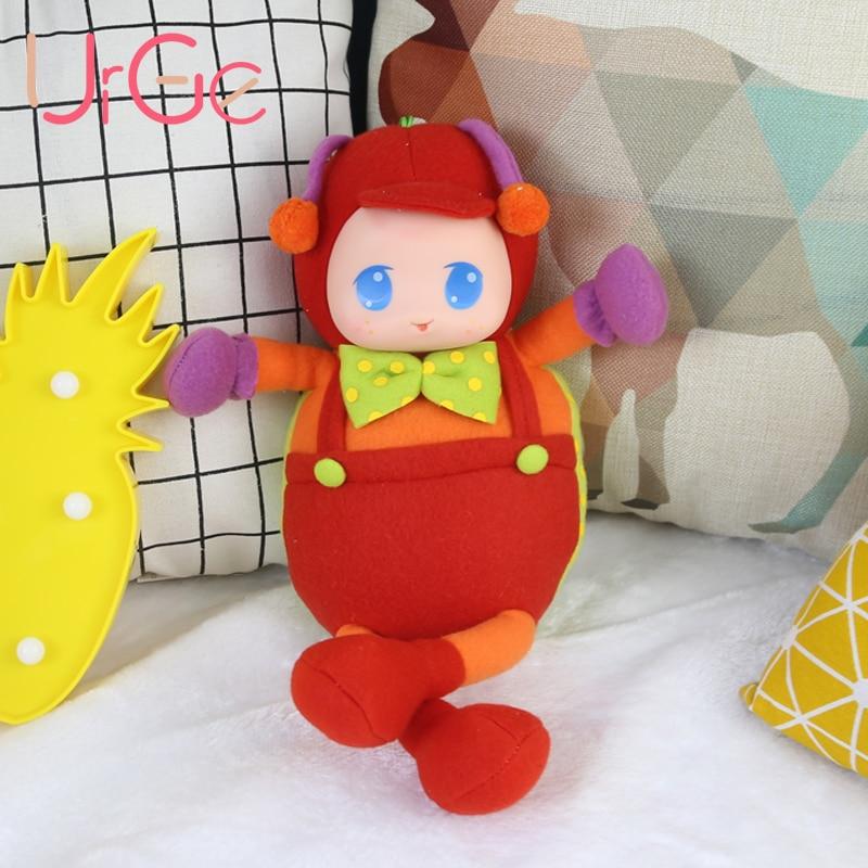 Kawaii mignon anime en peluche Cartoon red beetle doll en peluche animaux grands yeux bébé jouets pour enfants filles cadeau d'anniversaire de Noël